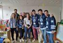 Visite des Joueurs de Hockey